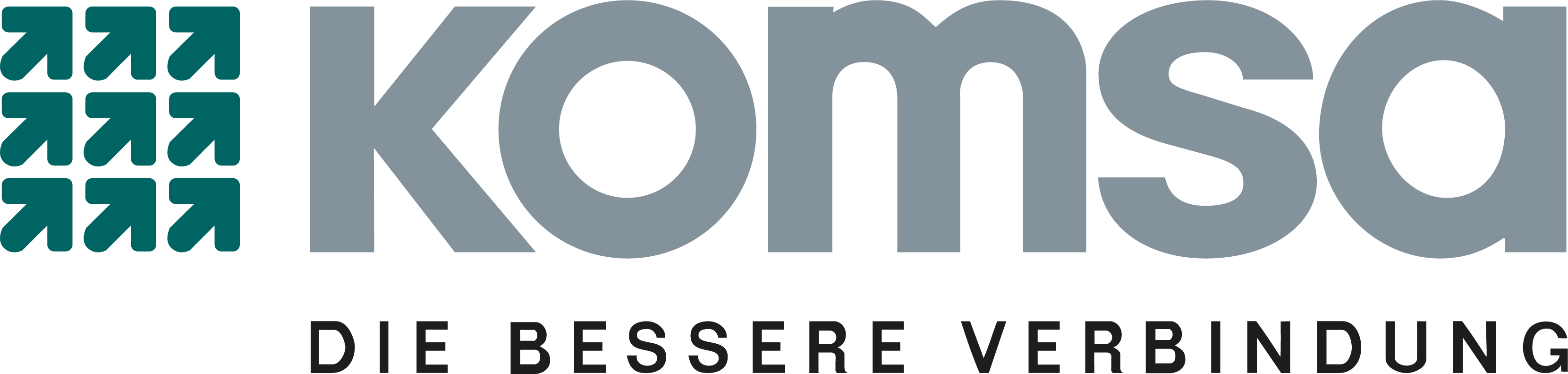 Logo KOMSA Gruppe