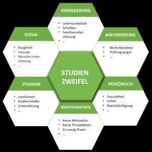 Mögliche Ursachen für Studienzweifel